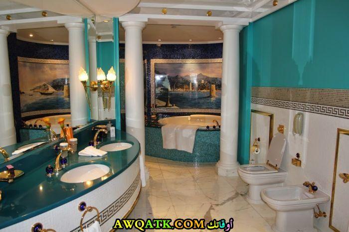 ديكور حمام فنادق خمس وسبع نجوم روعة