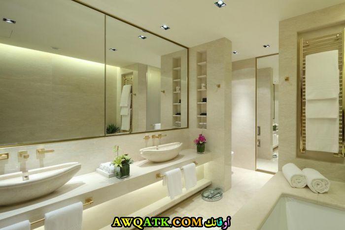 ديكور حمام فنادق خمس وسبع نجوم مودرن وشيك