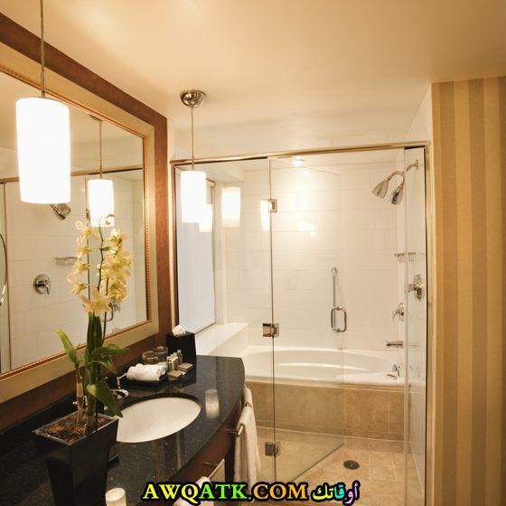 ديكور حمام فنادق خمس وسبع نجوم مودرن شيك جداً