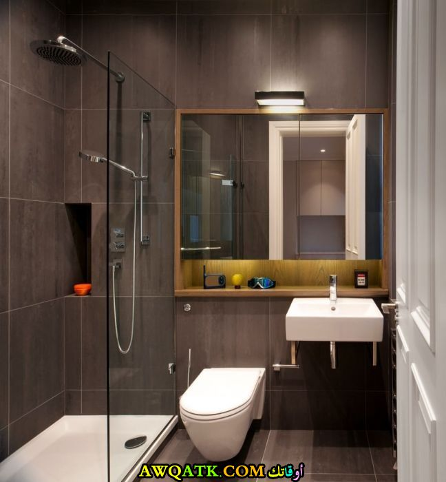 ديكور حمام فنادق صغير بتصميم رائع