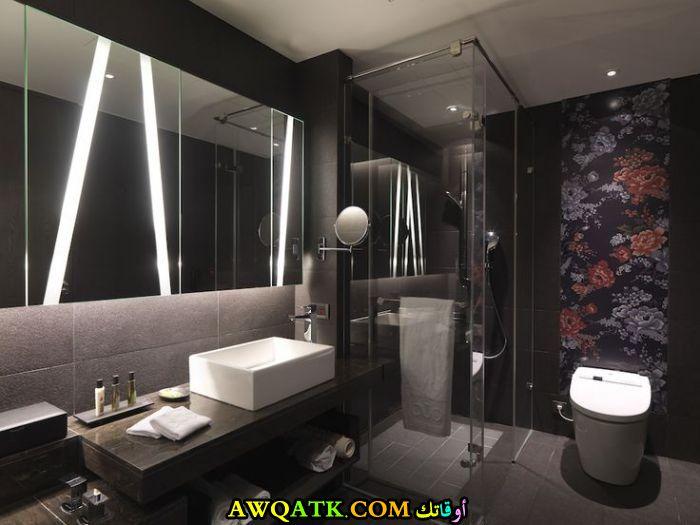 ديكور حمام فنادق صغير فخم جداً وشيك