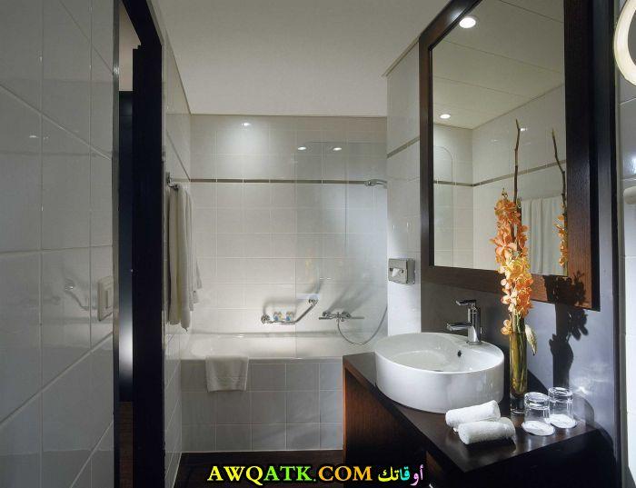 ديكور حمام فنادق صغير مودرن وشيك