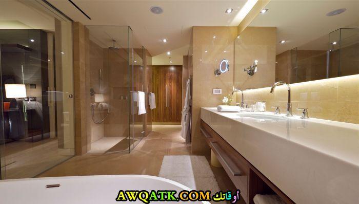 ديكور حمام فنادق فخم جداً ومودرن