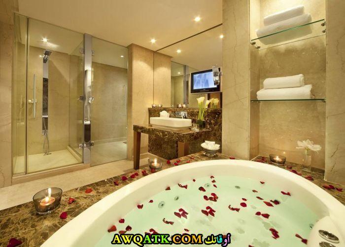 ديكور حمام فنادق قمة الفخامة