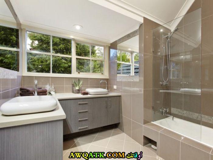 ديكور حمام مودرن شيك جداً