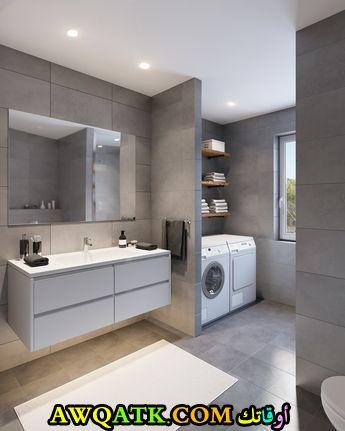 ديكور حمام جديد 2018 بسيط وجميل