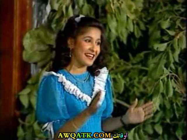 صورة قديمة للممثلة رجاء محمد