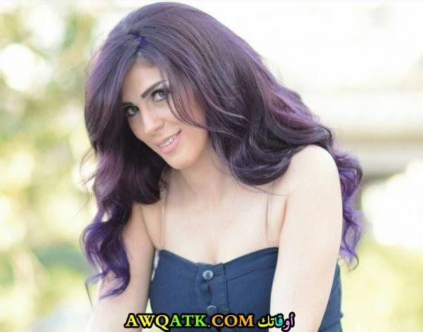 الممثلة رشا رستم