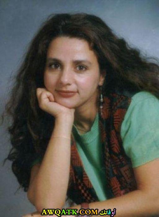 صورة قديمة للممثلة رنا جمول