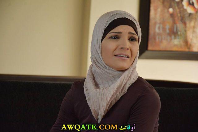 الممثلة ريم زينو بالحجاب