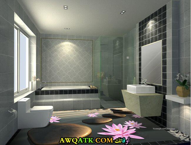 سيراميك حمام ثرى دى رائع وجميل