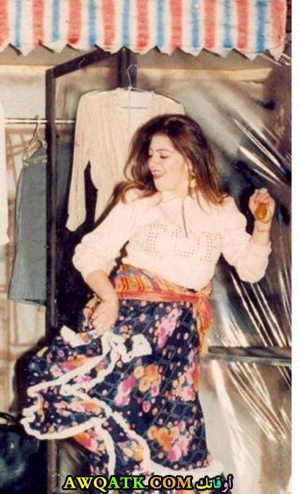 صورة قديمة للممثلة ليلى بقدونس