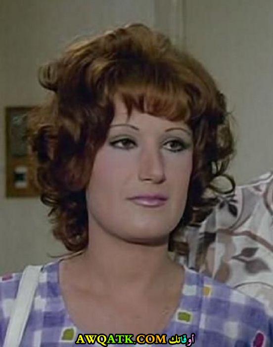 صورة قديمة للممثلة مها الصالح