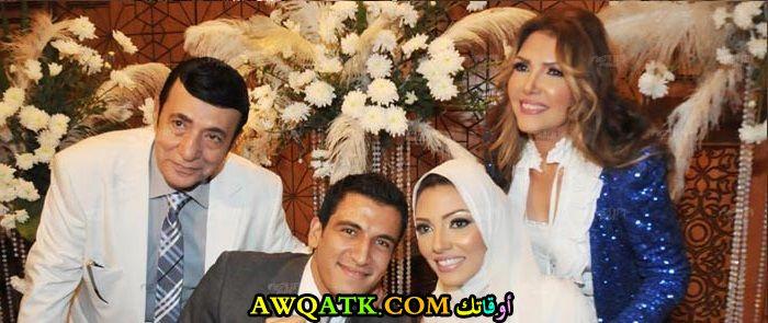 صورة عائلية للفنان أركان فؤاد مع أولاده