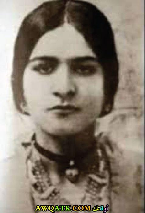 صورة قديمة للممثلة زكية جورج