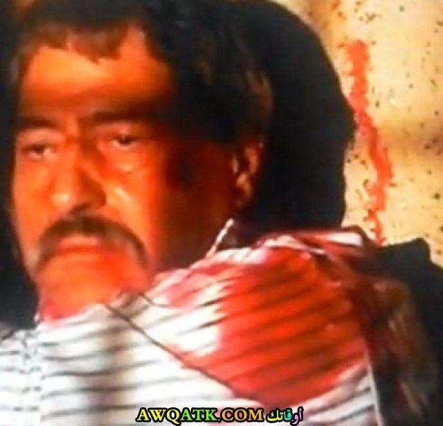 صورة للفنان صالح الحايك داخل مسلسل