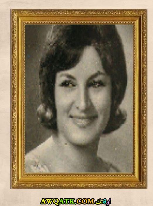 صورة قديمة للممثلة مها الجابري