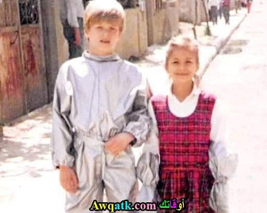 بطل مسلسل الاصطدام و اخته و هم صغيران