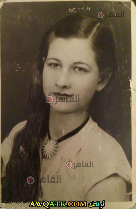 فوزية عبد العليم وهي صغيرة