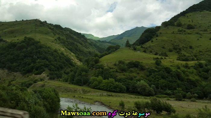 جبال خضراء