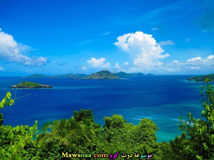 جزر في المحيط