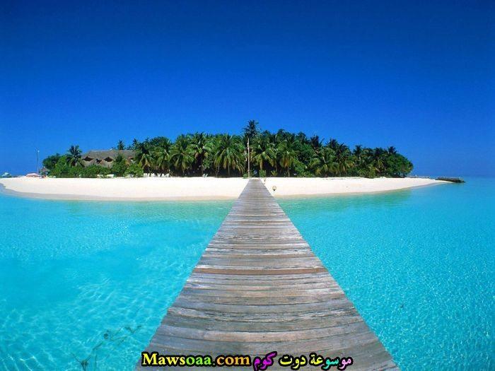 مناظرطبيعية من جزر المالديف