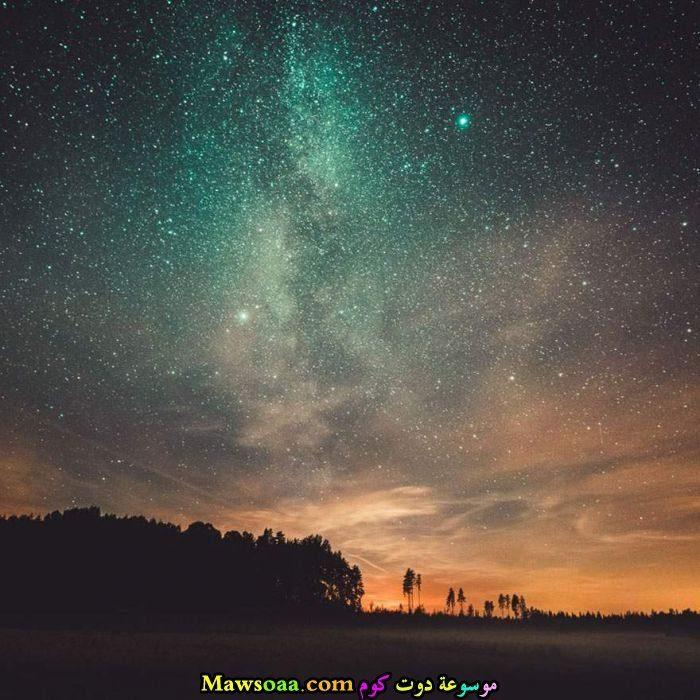 سماء مليئة بالنجوم