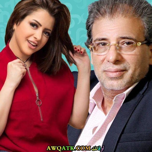 خالد يوسف ومنى فاروق