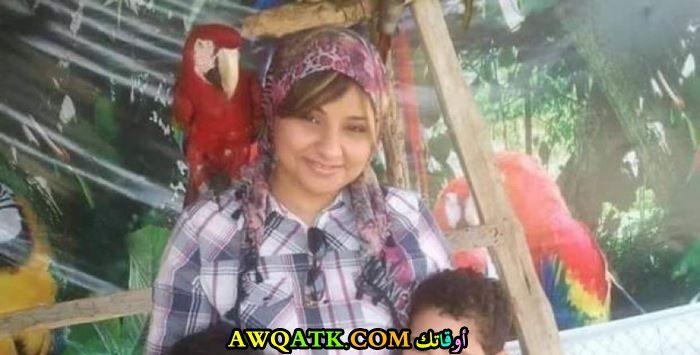 دينا أنور قبل خلع الحجاب