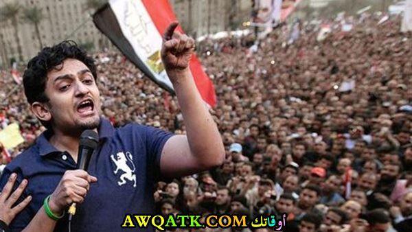 وائل غنيم في ميدان التحرير