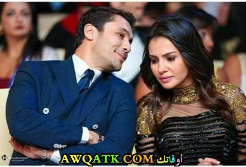 دينا فؤاد و أحمد حسن