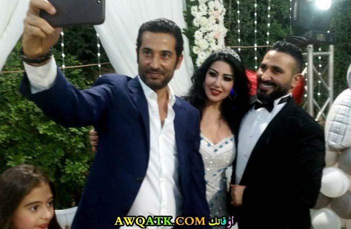 عمرو سعد وأحمد سعد وسمية الخشاب