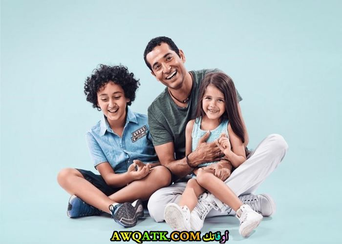 عمرو سعد و أولاده