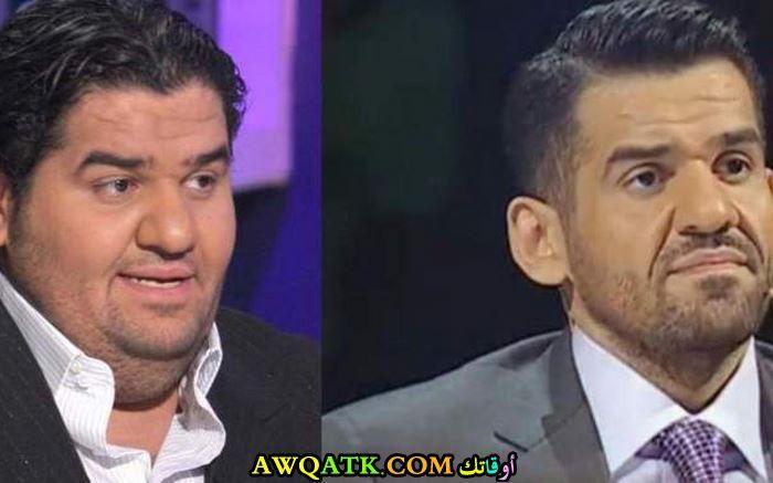 حسين الجسمي قبل وبعد الرجيم