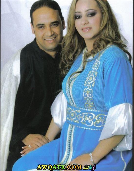 زينة الداودية وزوجها