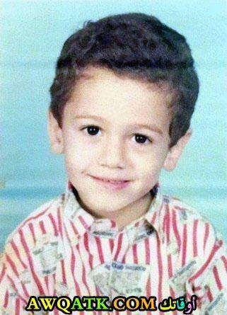 سعد لمجرد وهو صغير