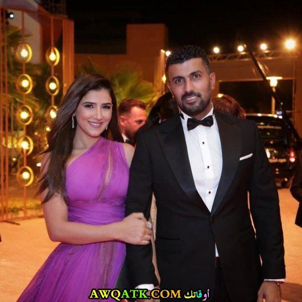 محمد سامي وزوجته مي عمر