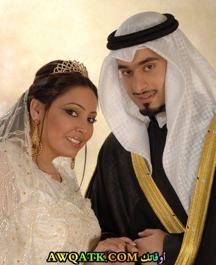 فاطمة الصفي وزوجها