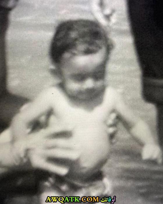 أحمد حلمي وهو صغير