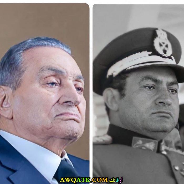 الرئيس السابق حسني مبارك