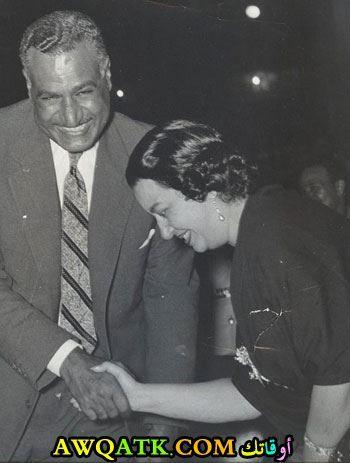 جمال عبد الناصر وأم كلثوم