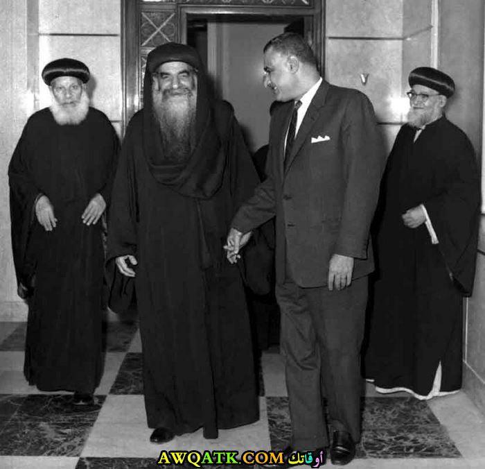 جمال عبد الناصر والبابا كيرلس