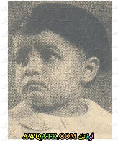 جمال عبد الناصر وهو صغير