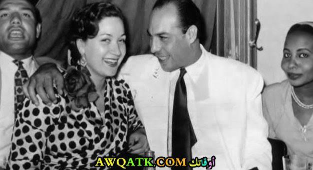 فريد شوقي وهدى سلطان وشقيقه أحمد