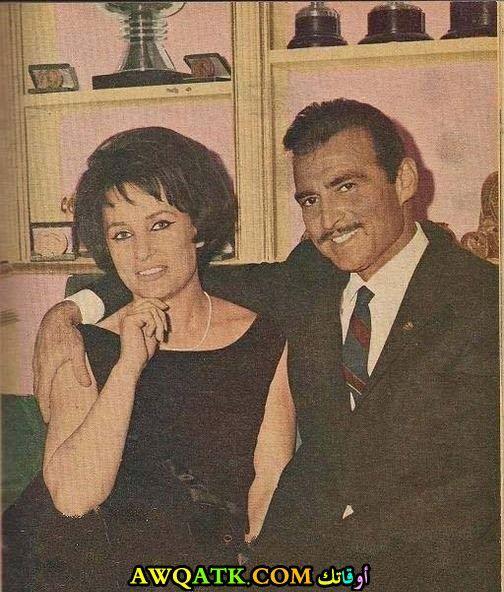 أحمد مظهر وزوجته