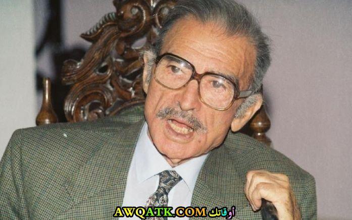 أحمد مظهر وهو عجوز