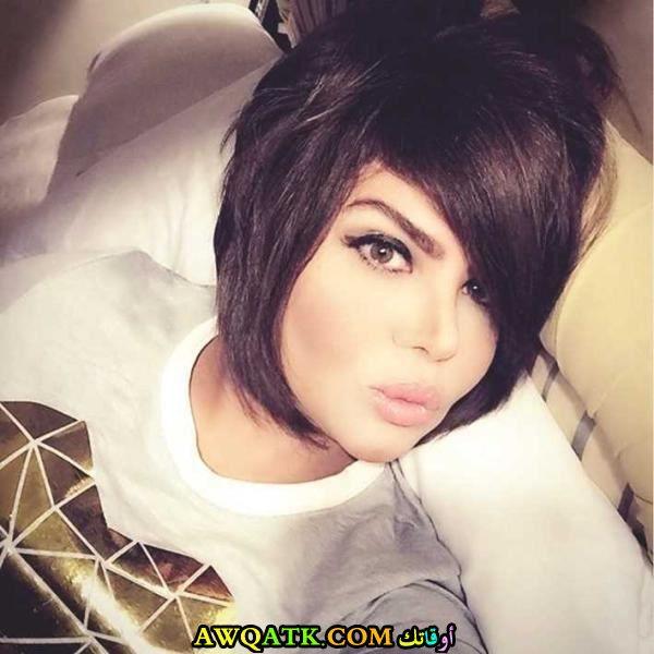 الممثلة مها محمد