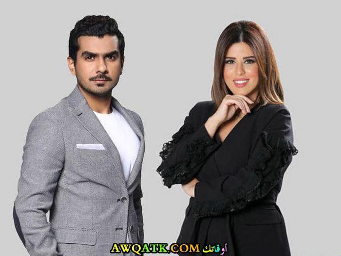 خالد الشاعر ونور الشيخ
