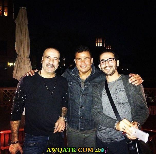 محمد سعد عمرو دياب أحمد حلمي