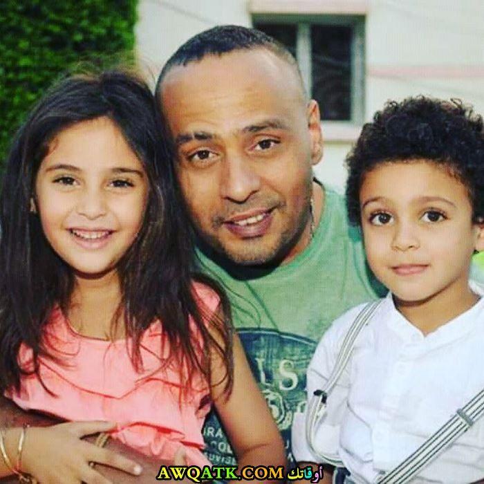 محمود عبد المغني وأولاده